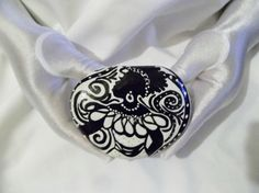 Culturally Accented Paperweight 23 by simplygail on Etsy, $15.00