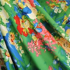 rayon for patio gowns