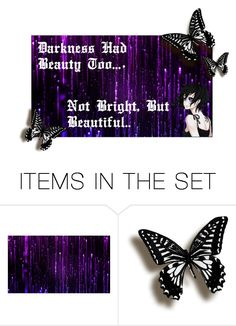 """""""The Beauty in Darkness"""" by gummybear53 ❤ liked on Polyvore featuring art"""