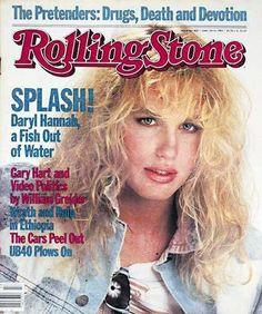Daryl Hannah - Rolling Stone Magazine [United States] (26 April 1984)