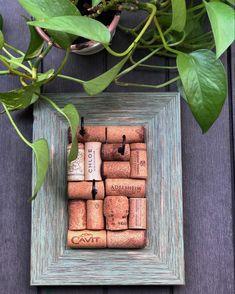 #corkboard #winecorkboard #winecorkjewelryholder #jewelrydisplay #jewelrystorage #keyhanger #keyorganizer #greendecor #greenfacts #winelover #winelovergifts #randomfacts #winecorks #craftyaf #craftastic #craftlife #rusticdecor #vineyardwedding #thewineingtwins #shopsmall #standwithsmall #dmv #rockvillemd #marylandcrafter Jewellery Storage, Jewellery Display, Jewelry Organization, Gifts For Wine Lovers, Gift For Lover, Wine Cork Jewelry, Wine Cork Holder, Recycled Wine Corks, Necklace Hanger