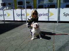 sprint cup girl brooke