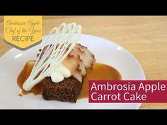 Ambrosia Apple Cake - Ambrosia Apples #Contest win a getaway in the #Okanagan. Enter today! Contest ends March 15th, 2017 #recipes #Canada