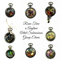 Group 11 of the Resin Time Submissions http://www.resincrafts.blogspot.ca/2014/02/resin-time-is-anytime-artist_4.html