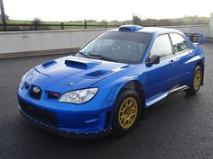 Image result for Subaru Impreza WRC S12B Driven by Petter Solberg and Colin…