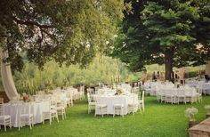 Elegant garden wedding @dievole www.originaltuscanwedding.com