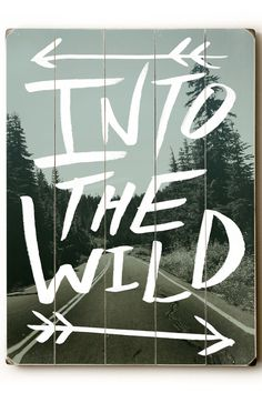 Into the Wild Wood Art