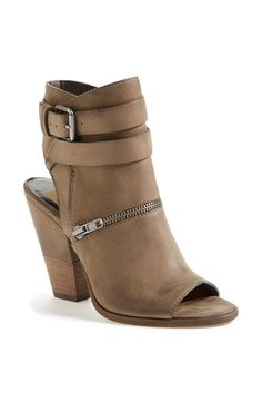 Dolce Vita 'Nayla' Open Toe Leather Bootie  Womens Moss 6.5 M from Nordstrom on Catalog Spree