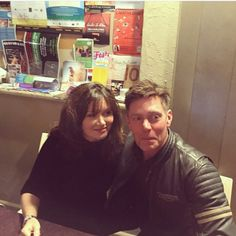 Essie Davis and Nathan Page