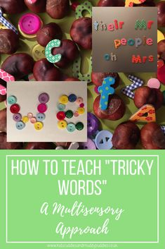 """Phonics: How to Teach your Child """"Tricky Words"""" - A Multisensory Approach Guided Reading Activities, Spelling Activities, Literacy Activities, Learn To Spell, Learn To Read, Learning Through Play, Kids Learning, Synthetic Phonics, English Phonics"""