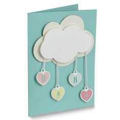 Silhouette Design Store - View Design #120314: baby shower folded card