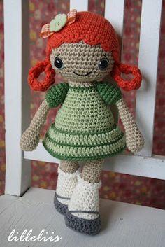 Rail flor - mundo cheio de fofura e amigurumi: Dolls