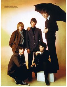 A group shot of the #Yardbirds in the Beck/Page era back in 1966.