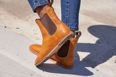 High-End Shoes & Boots For an All-Natural Foot Feel Minimalist Shoes, Minimalist Fashion, High End Shoes, Chelsea Boots, Stiletto Heels, Shoe Boots, Footwear, Natural, Fashion Design