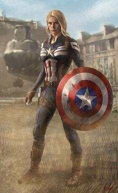 #Captain #America #Fan #Art. (Captain America in Key Frame) By: WeaponMassCreation.