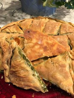 Spanakopita, Greek Recipes, Yummy Food, Cooking, Ethnic Recipes, Projects, Kitchen, Delicious Food