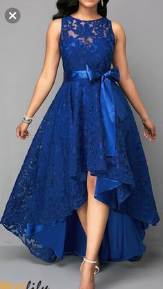 Vintage Lace Maxi Dress Women Sleeveless High Low Belted Irregular Swing A-Line Long Club Party Dress Vestidos 2019 Blue XXXL Club Party Dresses, Lace Party Dresses, Elegant Dresses, Sexy Dresses, Beautiful Dresses, Evening Dresses, Casual Dresses, Prom Dresses, Fashion Dresses