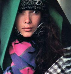 Kenzo, American Vogue, September 1984.