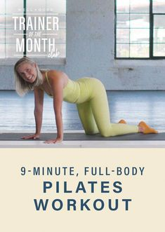 Pilates Workout Videos, Pilates Training, Pilates Video, Cardio Pilates, Pilates Moves, Pilates For Beginners, Floor Workouts, Pilates Reformer, Fitness Pilates