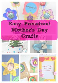 Mother's Day Crafts Gift Ideas - Great for Preschool/Little Kids! Karle's Sight and Sound Reading Mother's Day Crafts Gift Ideas - Great for Preschool/Little Kids! Karle's Sight and Sound Reading Easy Mother's Day Crafts, Mothers Day Crafts For Kids, Craft Day, Fathers Day Crafts, Craft Gifts, Gifts For Kids, Daycare Crafts, Preschool Crafts, Preschool Ideas