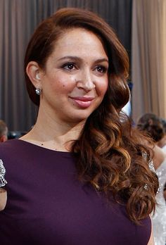 Curly Down Wedding Hair Idea - Maya Rudolph at the 2012 Oscars