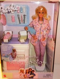 1990's barbies | Happy Family Barbier Baby DoctorT doll 2002