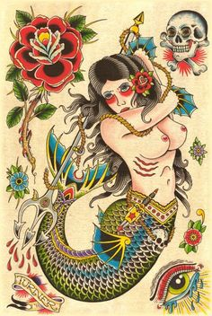 Steven Turner Tattoo Flash | KYSA #ink #design #tattoo