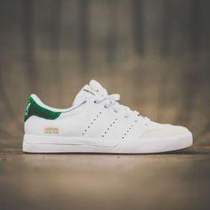 ADIDAS SKATEBOARDING LUCAS PUIG WHITE/FAIRWAY GREEN STAN SMITH #sneaker