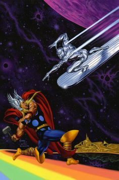 SILVER SURFER #4 Recreation by JoeJusko on DeviantArt