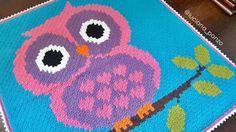 Luciana Ponzo Criações em Crochê: Tecendo de canto a canto