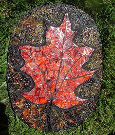 Leaf Stepping stone by siriusmosaics, via Flickr