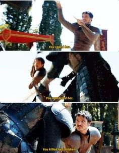 I will hear you confess before you die! ~ Oberyn Martell: Game of a thrones
