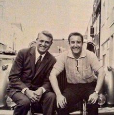sweethearts & characters (Cary Grant and Peter Sellers, 1959.)