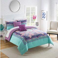 Vue Khaleesi Reversible Bedding Comforter Set - Walmart.com