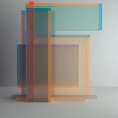 Chromatic Numerical Sculptures Inspired by Josef Albers from Leonardoworx - Design Milk