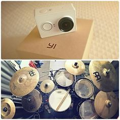 testing my new action camera by @xiaomi_id shooting my drum! this camera takes photos with 16MP of resolution and videos at 1080p (60fps)..is fucking awesome! next days I'll upload a video test behind my drum kit and this camera will be used for my upcoming videos for YouTube (link to my channel in bio)! remember to turn on notification if you don't want to miss my posts! stay updated :) #actioncam #xiaomiyi by pol_agu_drummer