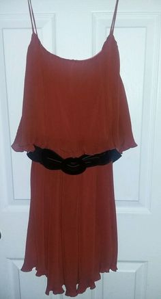 Marquis Dress Medium Romantic Boho USA BELTED Ruffle Tiered | Clothing, Shoes & Accessories, Women's Clothing, Dresses | eBay!