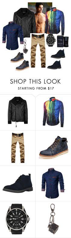 menlook by malishevan on Polyvore featuring Topman, Calvin Klein, Gucci, Tod's, Giorgio Armani, men's fashion and menswear