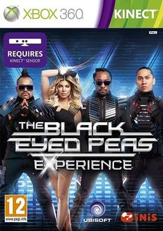Black Eyed Peas Experience Xbox 360 Kinect game NEW Black Eyed Peas, Xbox 360, Dance Games, Music Games, The Big Hit, Wii Games, Nintendo Wii, Music Videos, Video Games