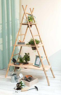 DIY : Créer une étagère en bambou | Leroy Merlin