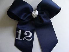 Softball or Team Number Hair Bow.. U choose number and by MaciesCustomBowZ, $7.00