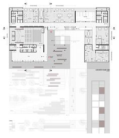 prize, Town Hall Bornova and surroundings - Cultural Architecture Cultural Architecture, Library Architecture, Concept Architecture, Architecture Design, Museum Architecture, The Plan, How To Plan, Plan Plan, Town Country Haus