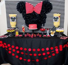 Fabulous Mickey and Minnie Mouse birthday party! See more party ideas at CatchMyParty.com!