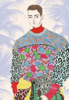 Jérémy Combot is a young French born artist and fashion illustrator, inspired by icons and symbols of and Pop Culture. Fashion Illustration Sketches, Fashion Sketchbook, Cute Illustration, French Illustration, Fashion Drawings, Silhouette Mode, Fashion Art, Fashion Ideas, Fashion Quotes