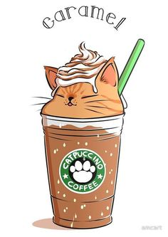 Best Ideas For Cats Cute Kawaii Kitty Cute Kawaii Drawings, Cute Animal Drawings, Kawaii Doodles, Cute Drawings Tumblr, Adorable Drawings, Drawing Animals, Funny Animals, Cute Animals, Dibujos Cute