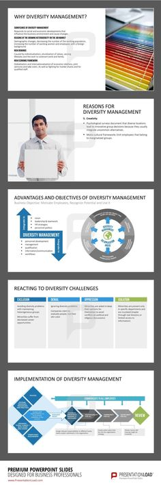 Templates contain definitions and a guiding principles for the implementation #DiversityManagement.