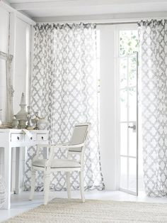 Window Treatments for French Doors.