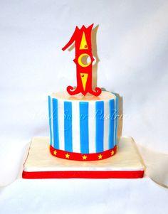 Circus Smash Cake