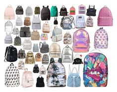 Lots of back packs I loved #backpack #pretty by taylor-blakely-white on Polyvore featuring polyvore, косметика, Sprayground, Valentino, Miss Selfridge, MCM, Salvatore Ferragamo, NIKE, Red Camel, 3.1 Phillip Lim, Chanel, JanSport, MICHAEL Michael Kors, Burton, Michael Kors, Poverty Flats, Rip Curl, Gucci, Anya Hindmarch, Le Donne, ZAC Zac Posen, Elizabeth and James, T-shirt & Jeans, Betsey Johnson, NLY Accessories, Billabong, Moschino, Mi-Pac, Topshop, Henri Bendel, STELLA McCARTNEY… Anya Hindmarch, T Shirt And Jeans, Henri Bendel, Rip Curl, Zac Posen, Elizabeth And James, Jansport, 3.1 Phillip Lim, Salvatore Ferragamo
