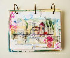 art journaling by Czekoczyna